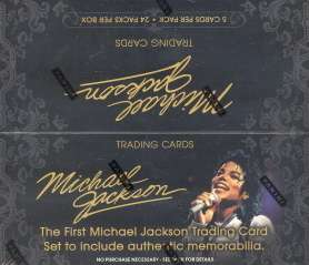 MICHAEL JACKSON 2011 PANINI TRADING CARD BOX LIMITED SECOND PRINTING