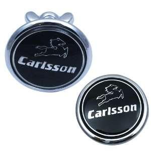 Mercedes Benz Carlsson Hood Bonnet Flat Emblem Badge / Carlsson Flach