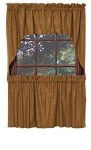 Decorative Window Treatment/Curtain for sale Pinwheel Mustard Swags