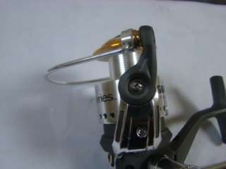 Airex spinster model 4 spinning reel working great bache brown for Gander mountain fishing reels