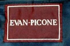 Evan Picone Cashmere Mens Sport Coat Navy 44 R Nice Jacket Very Soft