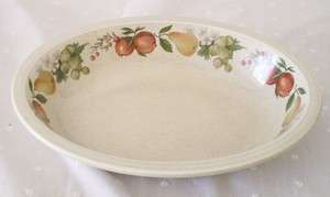 Wedgewood Quince Fruit Ring Oval Serving Vegetable 9 1/2 inch Oval