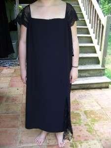 POSITIVE ATTITUDE 18 UNIQUE BLACK LACE MOTHER BRIDE COCKTAIL DRESS 18
