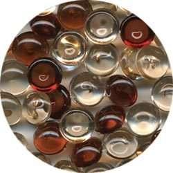 100 Robins Nest Dew Drops in Dark Vanilla~NEW~Skittles