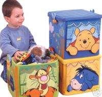 Winnie Pooh Faltboxen von Worlds Apart Ordnungshelfer   Ratgeber