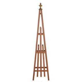 Four Seasons Flaminio Obelisk Designer Trellis 030TF at The Home Depot