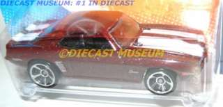 1969 69 CHEVY CAMARO Z28 HOT WHEELS HW DIECAST 2011