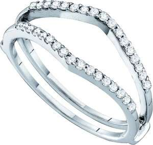ENGAGEMENT RING ENHANCER WRAP GUARD DIAMOND 0.25 CTS. GD 46727