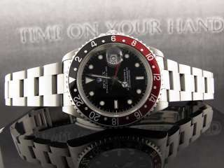 ROLEX GMT MASTER II PEPSI DIAL STAINLESS STEEL   E SERIAL   16710