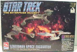 Star Trek USS Enterprise/Klingon Fiber Optic Model Kit