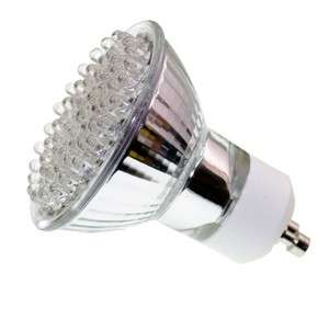 LED Pure White 6000K Wide Flood Light Bulb GU10 30LED 110Volt