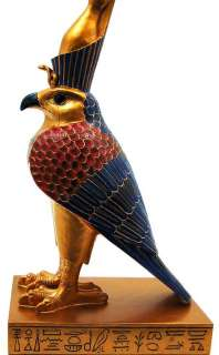 Egyptian God Horus Falcon Statue Figure Egypt