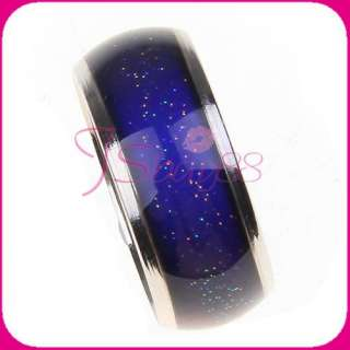 Emotion lady Party Jewelry Mood Color Ring Chidren Birthday Gift New