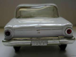 VINTAGE 1960 FORD FALCON 2 DOOR WHITE COUPE PROMO PLASTIC MODEL TOY