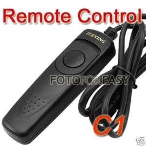 Remote Shutter Release Cord for Canon XS XSi XT XTi T1i