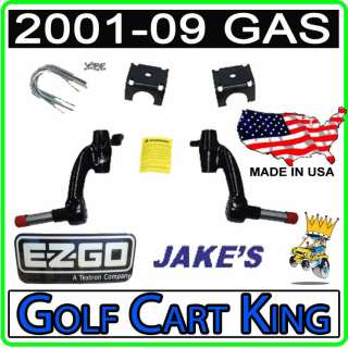 Jakes Spindle Lift Kit EZGO TXT Golf Cart Gas 2001.5 09