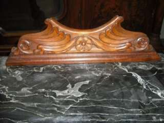 ANTIQUE ITALIAN MARBLE TOP WALNUT NIGHT STANDS #11IT108C
