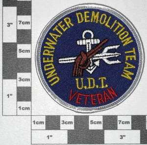 Abzeichen , Patch U.S.Navy Seal / Underwater Demolition Team U.D.T
