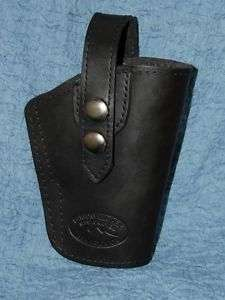 BARSONY BLACK LEATHER HOLSTER COLT COMPACT 1911 9MM .45