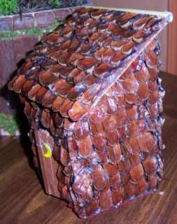 PINE CONE OUTHOUSE DECOR BATHROOM PIONEER RUSTIC #10693