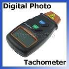 New Digital Laser Photo Tachometer Non Contact RPM Tach