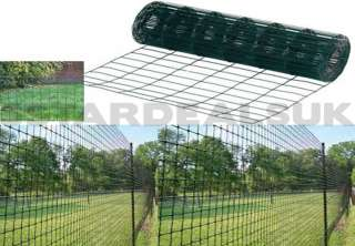PVC Coated Welded Wire Mesh Panels Yellow 1 2 X 1 2 Mesh Count 78
