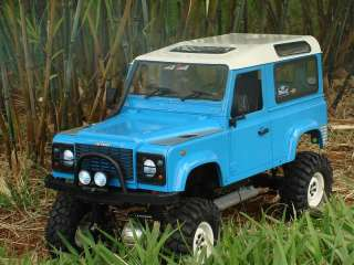 RC4WD Rock Crawler 4 x Landy Classic 1.9 Scale in White