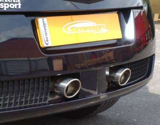 BRAND NEW SCORPION EXHAUST BACK BOX TO FIT MEGANE 225 2.0 TURBO 2004