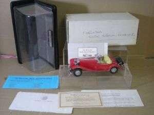 FRANKLIN MINT 1935 MERCEDES 500K ROADSTER NEW BOXED