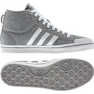 Adidas Originals Honey Stripes Mid Trainers Grey