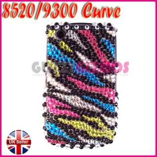 BLING DIAMOND GEM COVER CASE FOR BLACKBERRY CURVE 8520