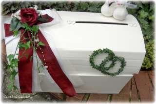 Briefbox,Geldgeschenke,Hochzeit,Tischdekoration,Tauben