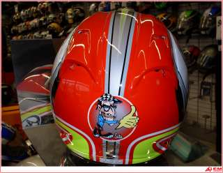 Casco Helmet Casque Arai RX 7 Corsair Sete Gibernau L