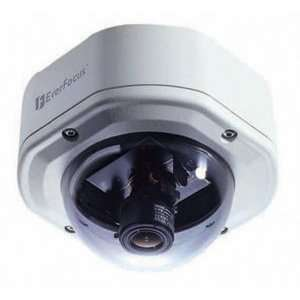 Ever Focus ED350/NB 520 TVL Color Mini Dome, 3.8 9.5mm
