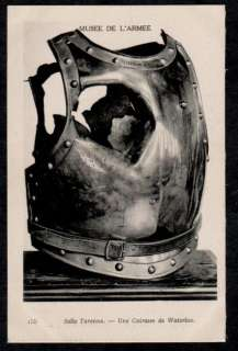 BATAILLE WATERLOO BATTLE.NAPOLEON 1er.CUIRASSE.ARMOR.