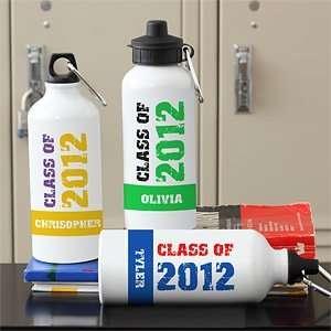 Graduation Water Bottle   Glad Grad:  Sports & Outdoors