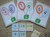 Teaching Resources Number Bonds to 10 Display Balloons