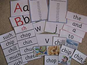 Phonics Phase 3 teaching resource pack games,flash card