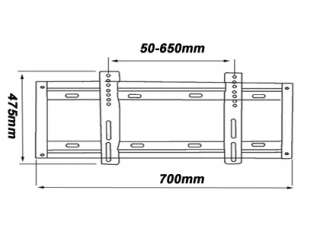 Ultra Slim PLASMA LCD TV Wall Mount Bracket 32 37 42+