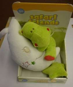 BNIP BABY SAFARI FRIENDS MUSICAL SOFT PLUSH COT TOY