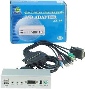 Lian Li I/O Aluminum Adapter Extender EX 10