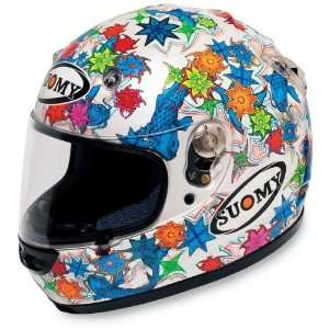 Suomy Vandal Helmet , Size XL, Style Aquarius KTVLAQ XL Automotive