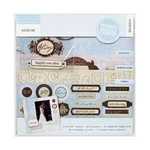 Colorbok Wedding Page Kit 12X12 45325; 2 Items/Order