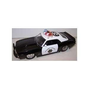 Jada Toys 1/24 Scale Diecast Heat Series 1969 Chevy Camaro