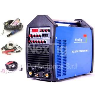 INVERTER TIG DC + TIG AC + PLASMA + MMA 4X1 NX 300 POWERMIX 250 AMP