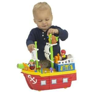 Small World Express Preschool Toys Light N Sound Pirate Ship: Toys
