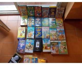 VHS classici Disney originali,warner bross a Rivoli    Annunci
