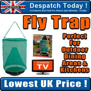 Hanging Fly Trap Insect Bug & Wasp Catcher