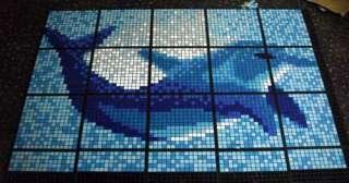 inoltre possibile proseguire e completare la parete con il mosaico