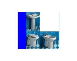 Sanitari serie 4 pezzi tesi ideal standard (wc+bidet+ lavabo+ colonna)
